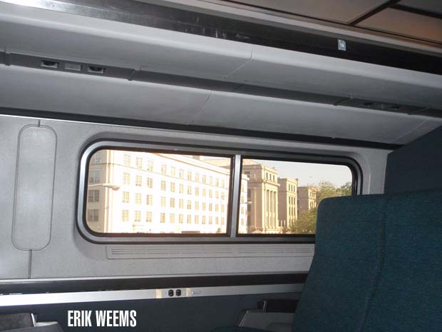 Coming into DC by train