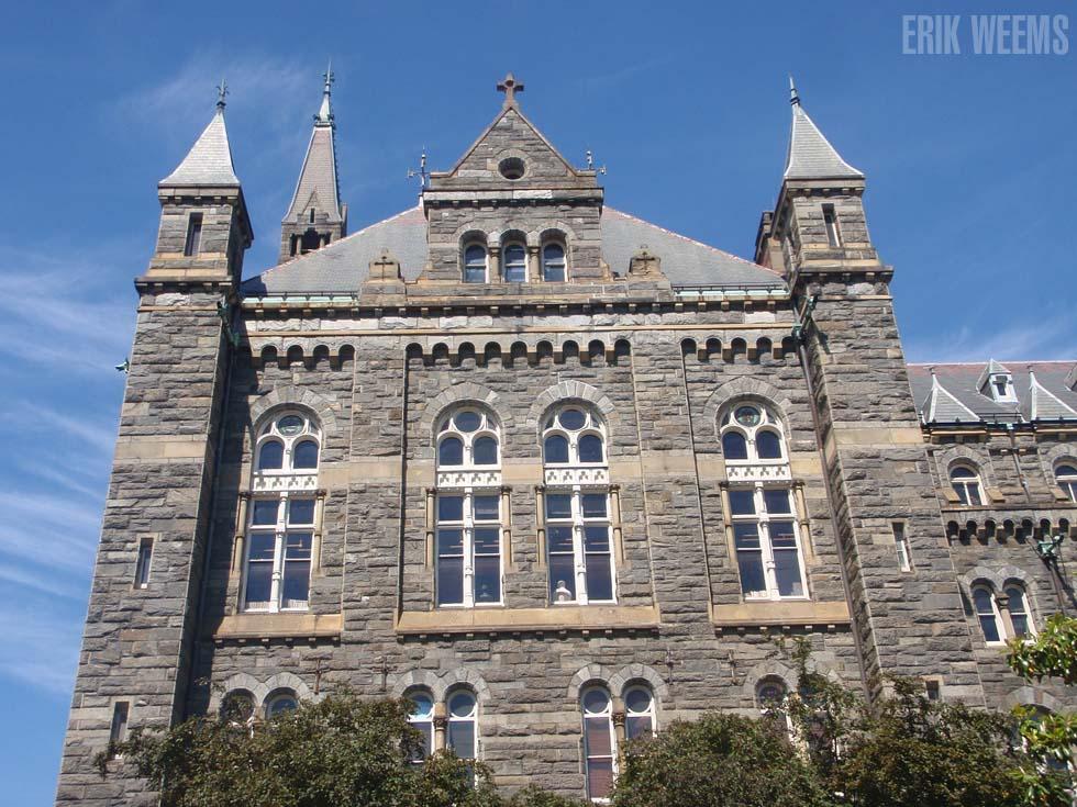 Georgetown University Tour Parking