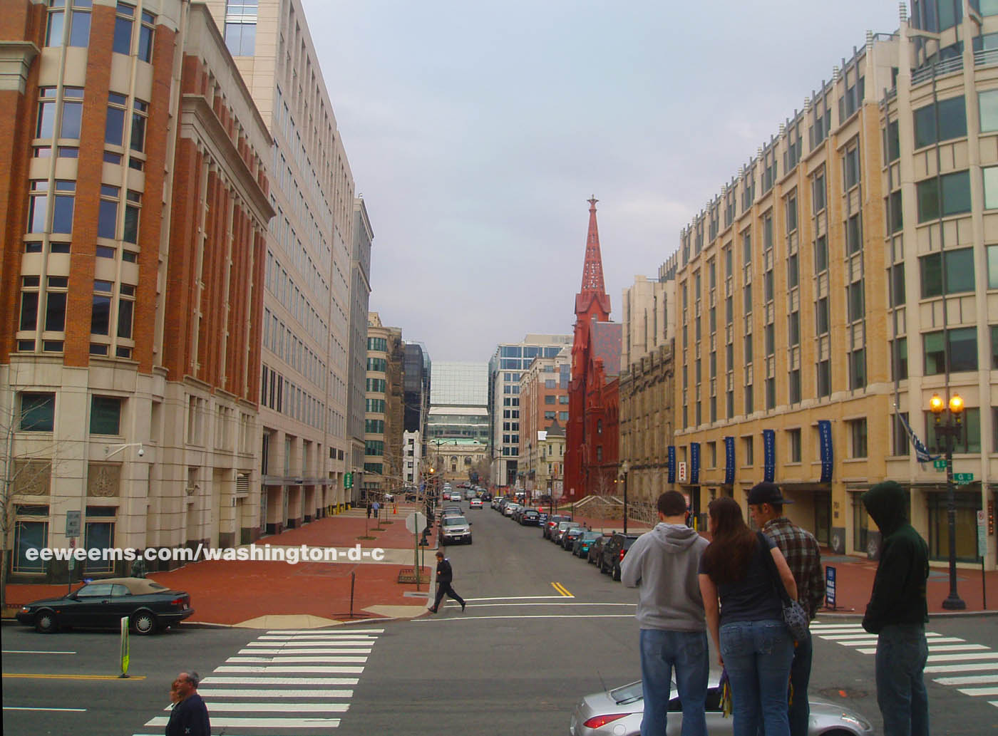 G Street And 8th Street Nw In Washington Dc