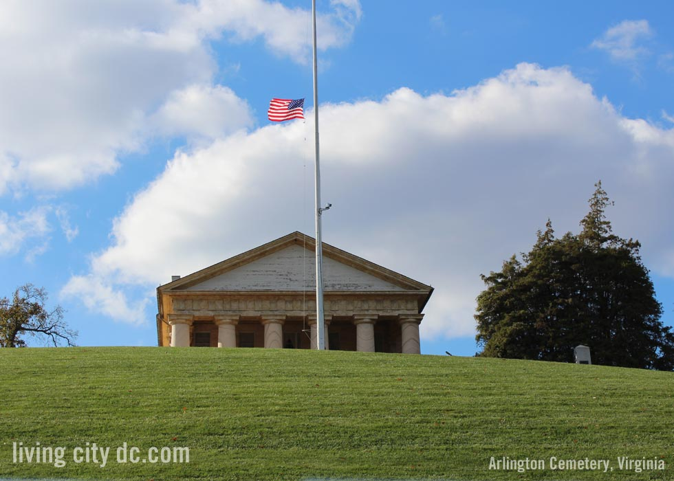 Robert E Lee House Arlington Cemetery Virginia - DC