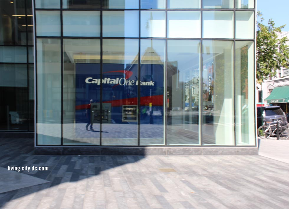 Capital One Bank Relfection