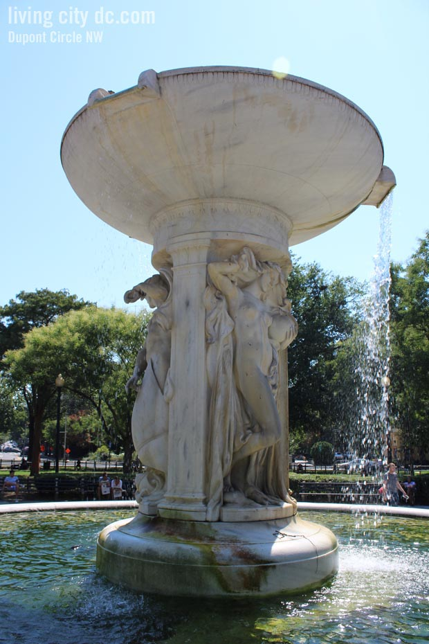Dupont Circle water Fountain Washington DC