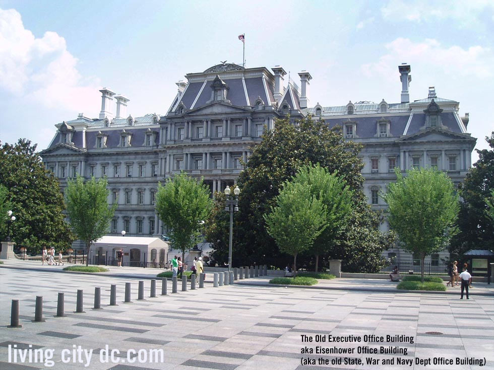 Old executive office building in washington dc for Building a house in washington state