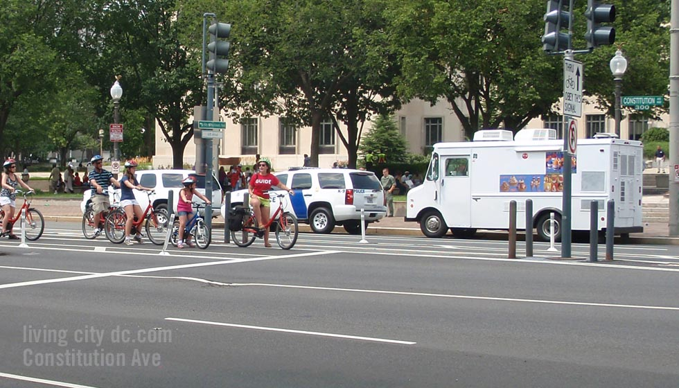 Constitution Avenue Washington DC - Tourist Guide
