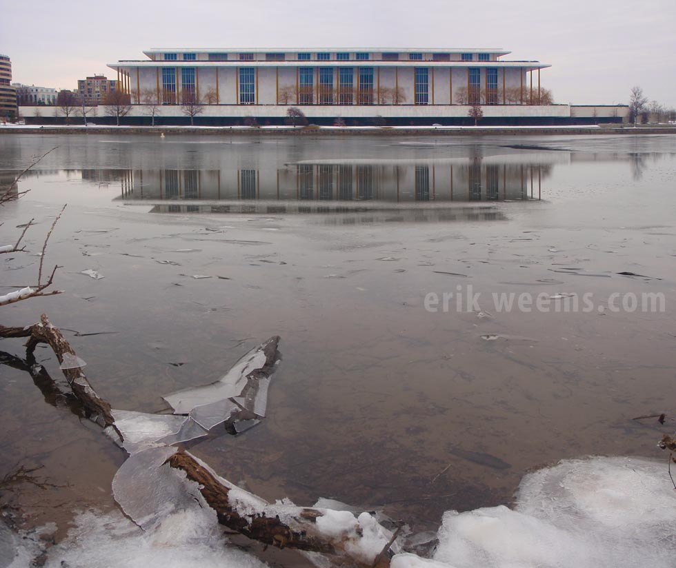 Kennedy Center Ice and Winter Washington DC