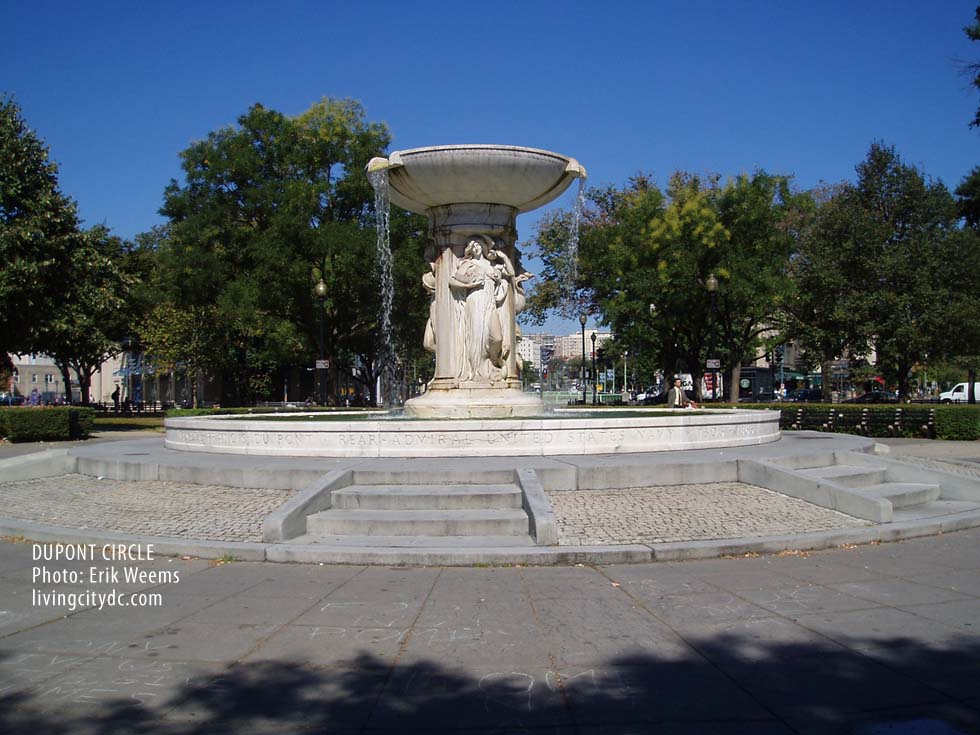 Dupont Circle - Washington DC -  The Dupont Fountain
