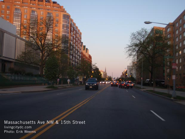 15th Street and Massachusetts Ave NW Washington DC