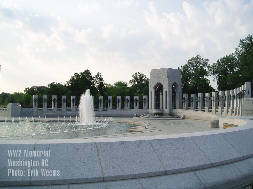 WW2 Memorial Washington DC