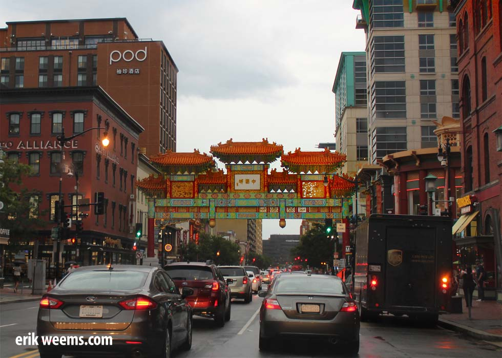 Chinatown in Washington DC