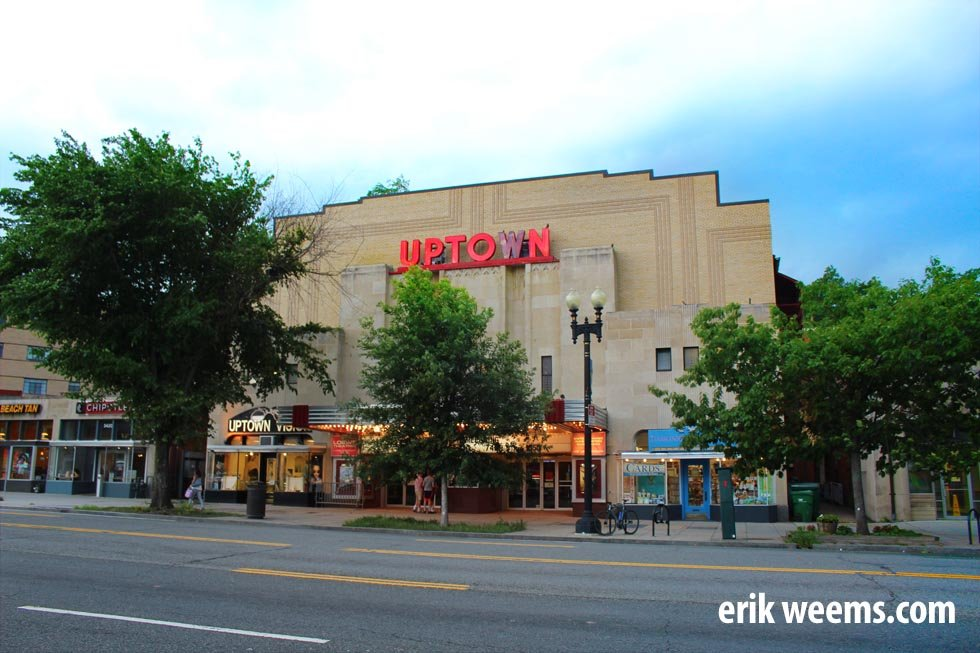 Uptown Movie Theater Washington DC