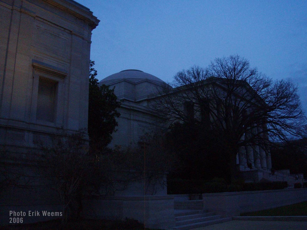 National Gallery of Art at Dusk