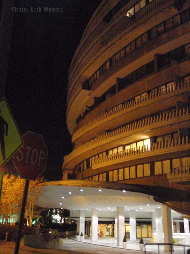 Watergate at Night