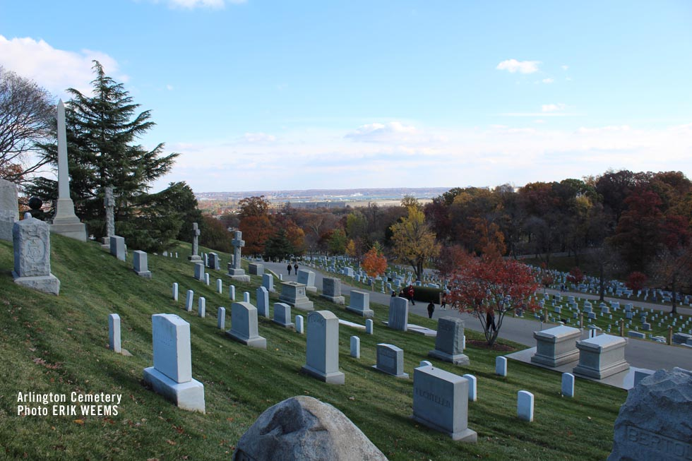 View of DC from Arlington Cemetery