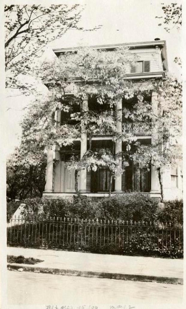 Wisteria House Washington DC 1919