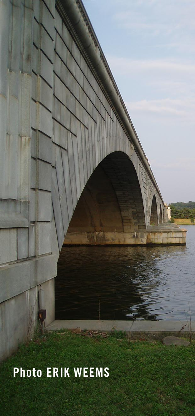 Memorial Bridge on the Potomac